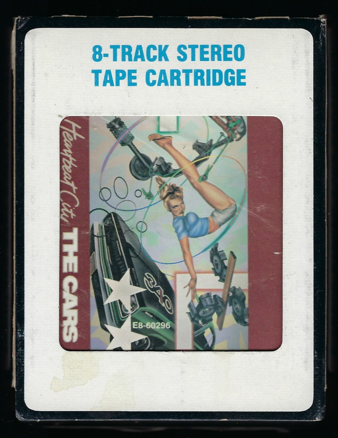 The Cars - Heartbeat City 1984 CRC ELEKTRA T10 8-TRACK TAPE