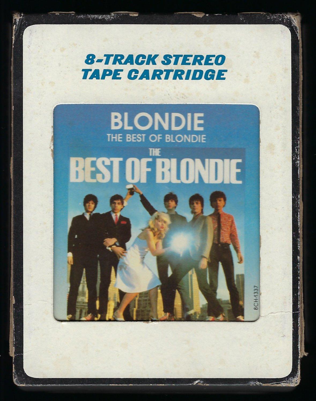 Blondie - The Best Of Blondie 1981 CRC T9 8-TRACK TAPE