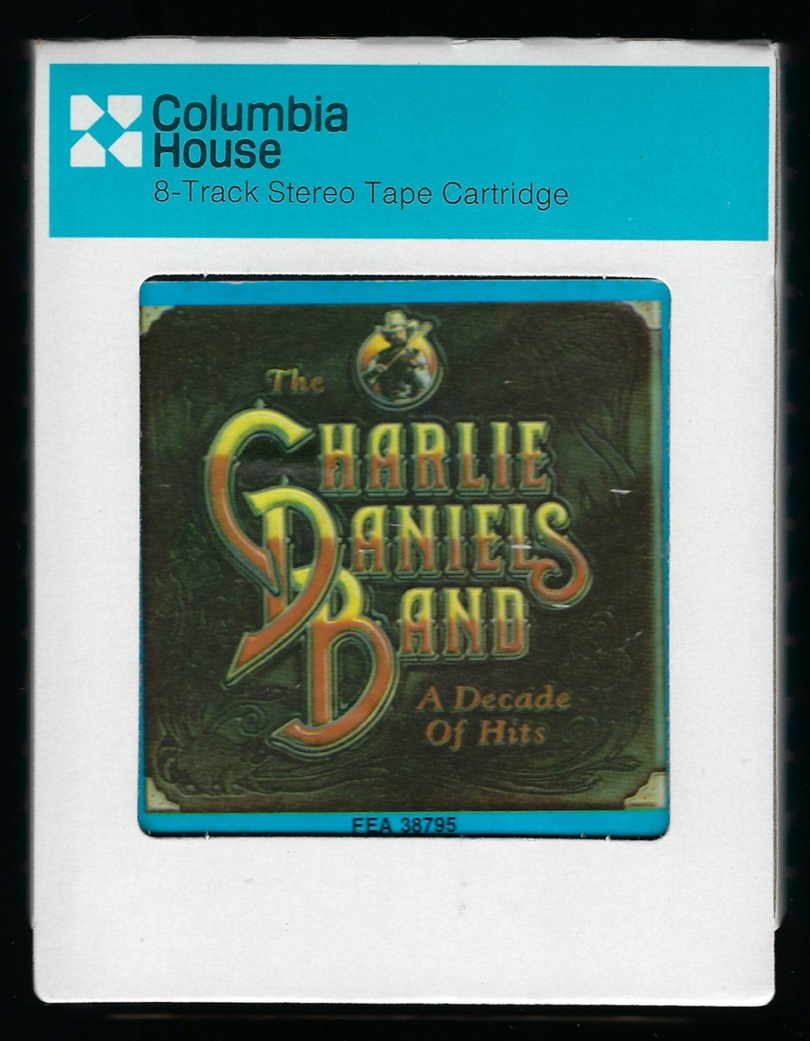 The Charlie Daniels Band - A Decade Of Hits 1983 CRC EPIC T9 8-TRACK TAPE