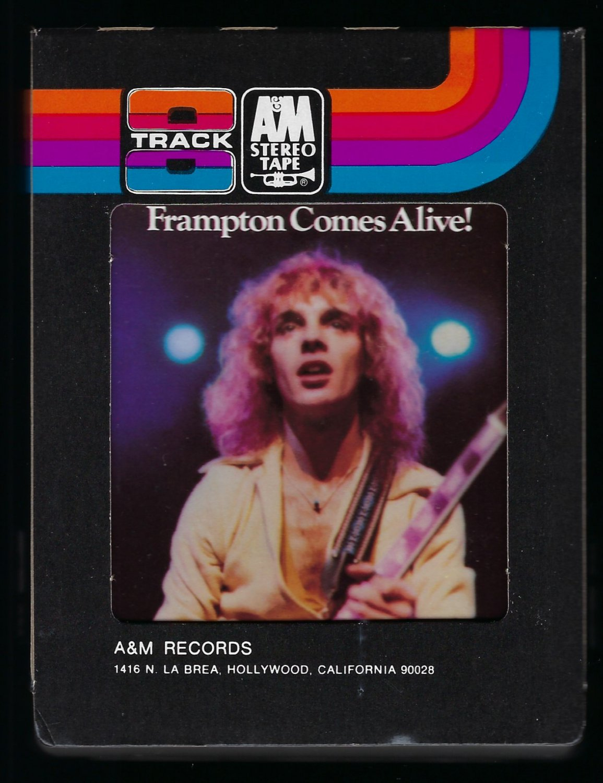Peter Frampton - Frampton Comes Alive 1976 A&M T9 8-TRACK TAPE