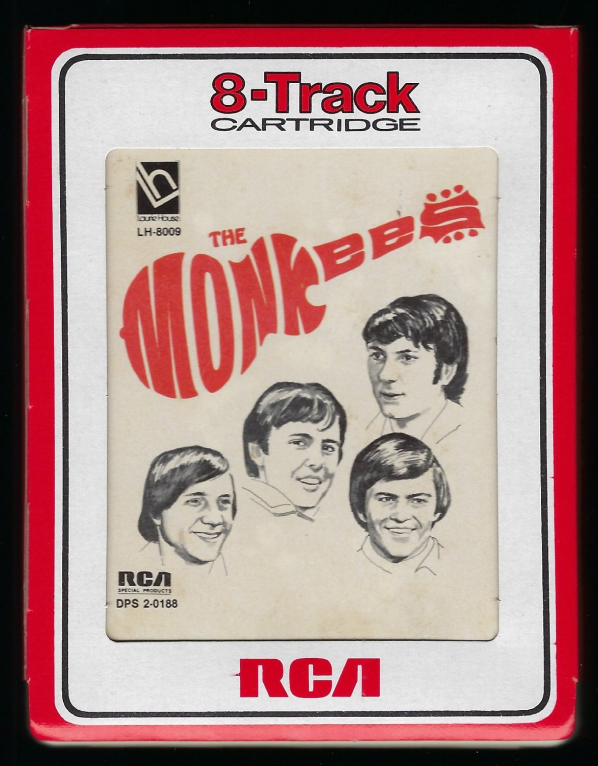 The Monkees - The Monkees 1976 RCA SPECIAL PRODUCTS LAURIE T10 8-TRACK TAPE