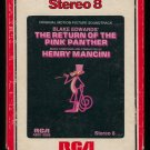 Henry Mancini - Return Of The Pink Panther Soundtrack 1975 RCA T9 8-TRACK TAPE