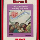 The Guess Who - The Way They Were 1976 RCA T9 8-TRACK TAPE