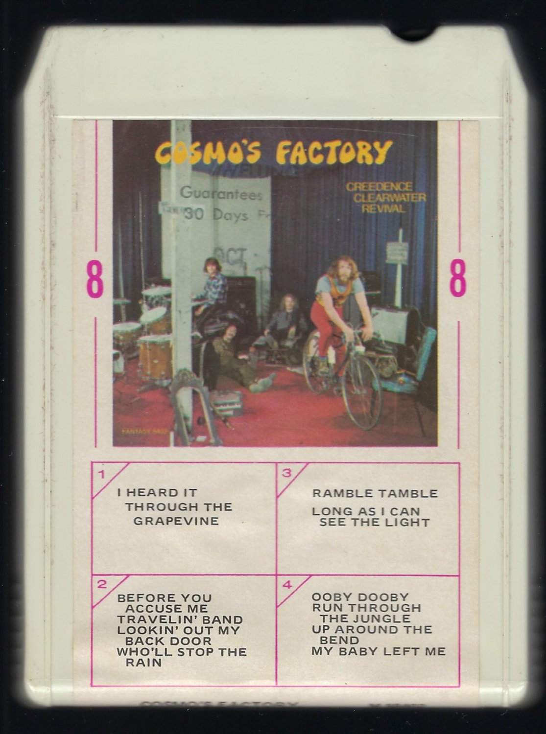 Creedence Clearwater Revival - Cosmo's Factory 1970 AMPEX FANTASY T9 8-TRACK TAPE