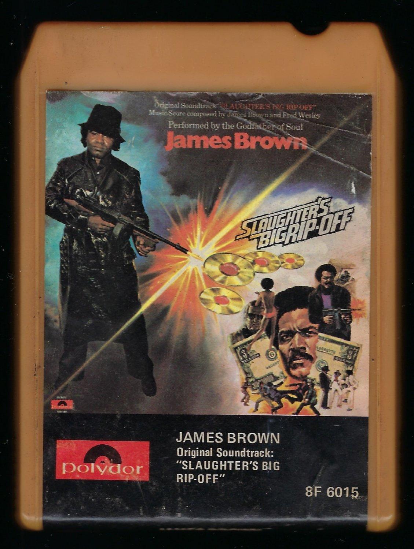 "James Brown - ""Slaughter's Big Rip Off"" Soundtrack 1973 POLYDOR T9 8-TRACK TAPE"