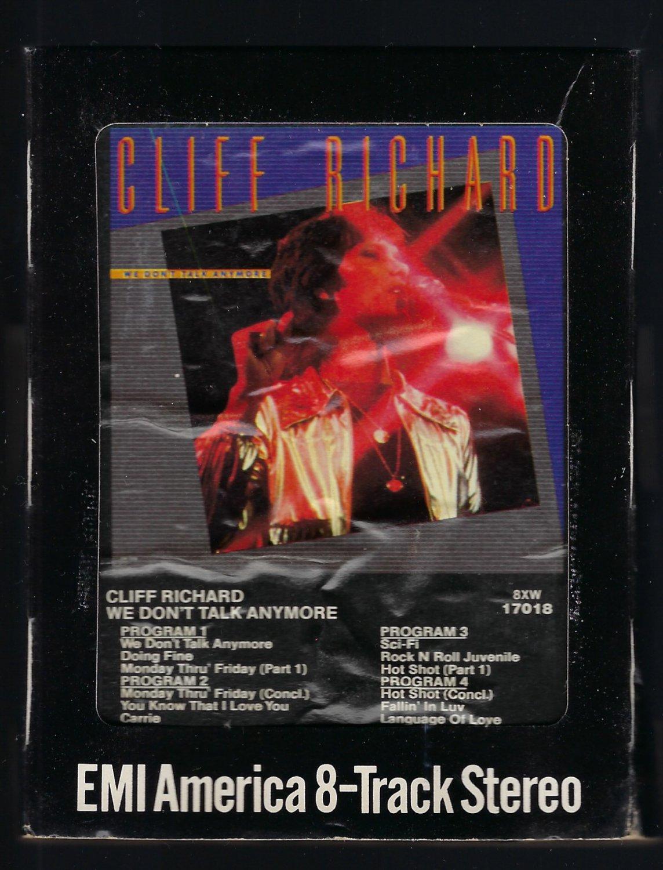 Cliff Richard - We Don't Talk Anymore 1979 EMI T9 8-TRACK TAPE