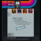 Free - Free Live! 1971 A&M Sealed T11 8-TRACK TAPE