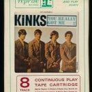 The Kinks - You Really Got Me 1964 Debut LEAR AMPEX REPRISE T11 8-TRACK TAPE