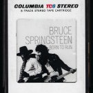 Bruce Springsteen - Born To Run 1975 CBS T10 8-TRACK TAPE