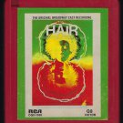 Hair - Original Broadway Cast 1968 RCA Quadraphonic T11 8-TRACK TAPE