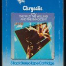 UFO - The Wild, The Willing and The Innocent 1981 CHRYSALIS T11 8-TRACK TAPE