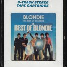 Blondie - The Best Of Blondie 1981 CRC T11 8-TRACK TAPE