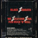 Black Sabbath - We Sold Our Soul For Rock N' Roll 1976 WB T11 8-TRACK TAPE