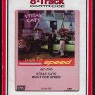 Stray Cats - Built For Speed 1982 Debut RCA T12 8-TRACK TAPE