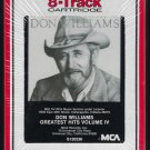 Don Williams - Greatest Hits Volume 4 1985 RCA MCA Sealed T12 8-TRACK TAPE
