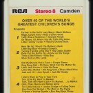 Bob Hastings - Over 40 Of The World's Greatest Children's Songs 1960 RCA Reissue T12 8-TRACK TAPE