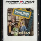 Sesame Street - Original Cast 1970 Debut T12 8-TRACK TAPE