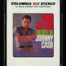 Johnny Cash - Ring Of Fire The Best Of Johnny Cash 1963 CBS T11 8-TRACK TAPE