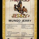 Mungo Jerry - Mungo Jerry 1970 Debut GRT JANUS RECORDS T11 8-TRACK TAPE