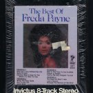 Freda Payne - The Best Of Freda Payne 1972 INVICTUS Sealed T12 8-TRACK TAPE