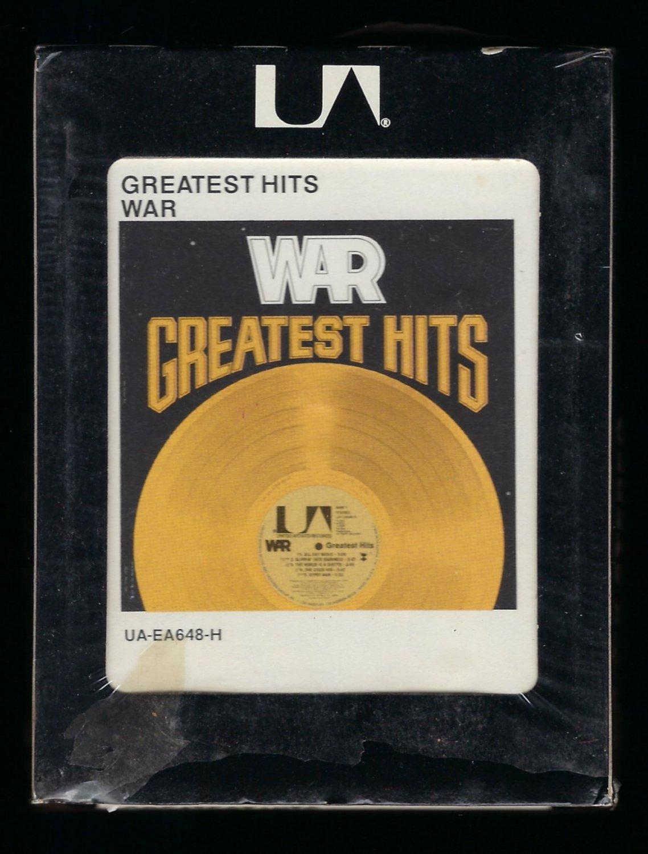 War - War Greatest Hits 1976 UA FAROUT T12 8-TRACK TAPE