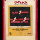 Black Sabbath - We Sold Our Soul For Rock N' Roll 1976 RCA WB T10 8-TRACK TAPE