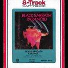Black Sabbath - Paranoid 1970 RCA WB T9 8-TRACK TAPE