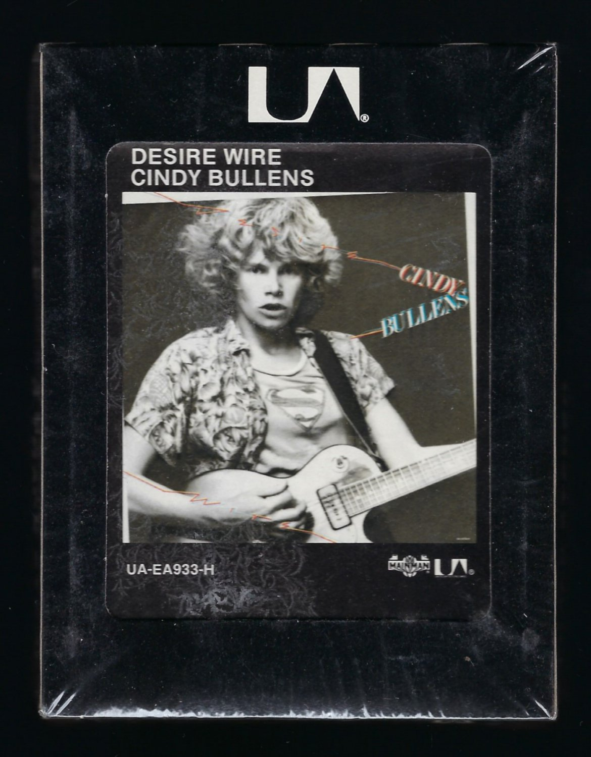 Cindy Bullens - Desire Wire 1978 Debut UA Sealed T12 8-TRACK TAPE