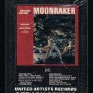 Moonraker - James Bond Original Motion Picture Soundtrack 1979 UA Sealed T12 8-TRACK TAPE