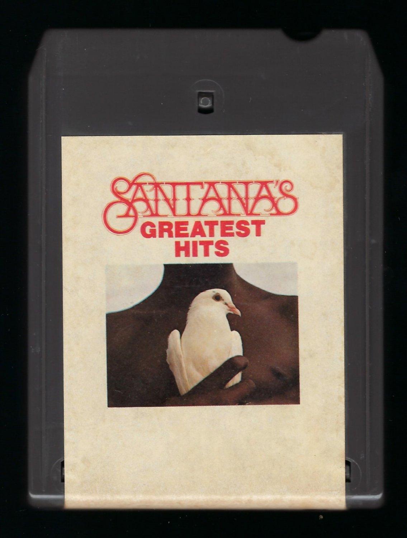 Santana - Greatest Hits 1974 CBS T10 8-TRACK TAPE
