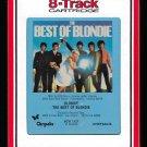 Blondie - The Best Of Blondie 1981 RCA CHRYSALIS T10 8-TRACK TAPE
