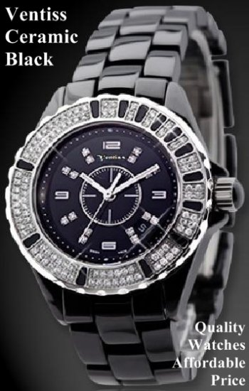 Ventiss Ceramic Black (For specs, price, and availability, please contact watch99.ecrater@gmail.com)
