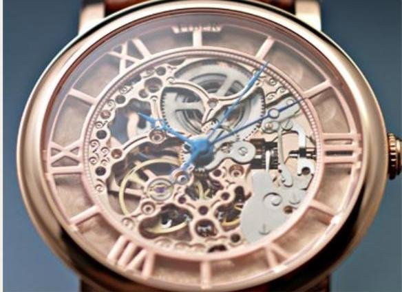 Fiber - Carved Rose Gold Roman Automatic (FB8002-02-3SRG)