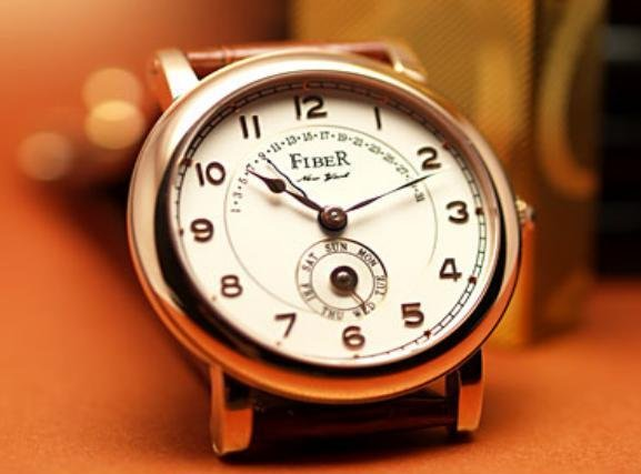 Fiber - Rose Gold Numeral Counter Jump Automatic (FB8002-62-3SRG)