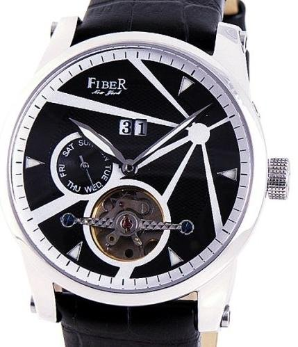 Fiber - Stainless Steel Black Face Plat (CODE: FB8009-01-2)