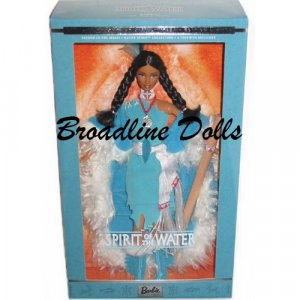 Spirit of the Water Native American Barbie Native Spirit Collection doll NRFB