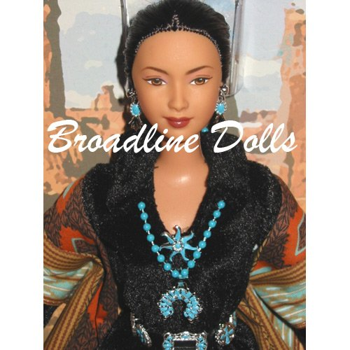 Princess of the Navajo Native American Barbie Dolls of the World Indian doll NRFB