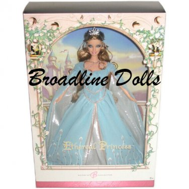 2006 Ethereal Princess Barbie collector pink label doll NRFB