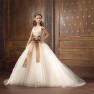 Monique Lhuillier Bride Barbie Gold Label doll NRFB