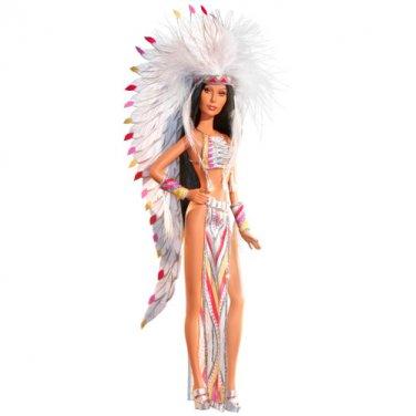 70's Cher Barbie Bob Mackie Half Breed Indian doll NRFB