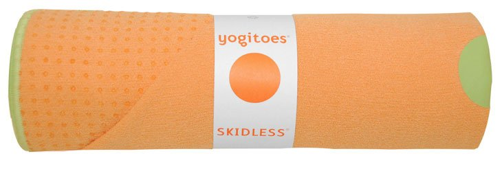 YOGITOES Skidless Yoga Mat Towel Tropical Mango