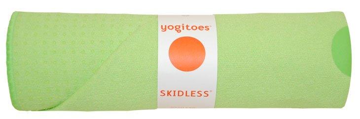 YOGITOES Skidless Yoga Mat Towel Tropical Kiwi