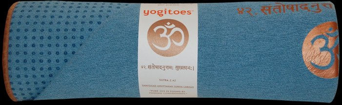 YOGITOES Skidless Yoga Mat Towel Sutra Bay