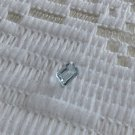 Genuine Natural Santa Maria Aquamarine Octagon 6x4 mm 0.47 Cts.