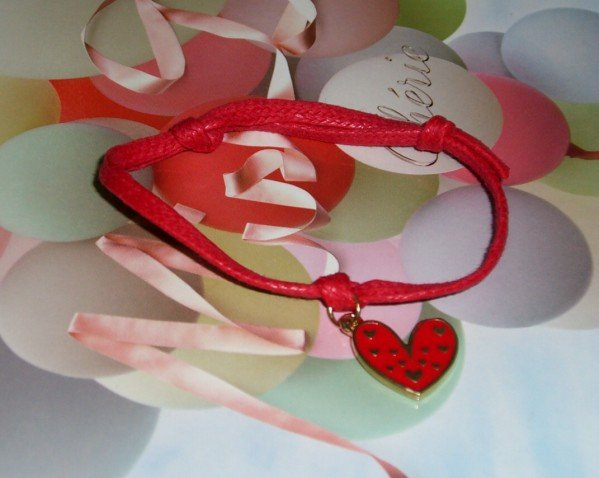 Real Heart  Lucky Bracelets (Hand-Made)