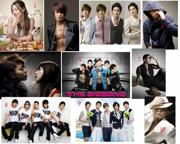 Korean Stars Photo