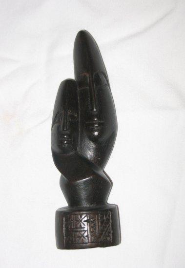 "Lovers statue, black - 6.5"""