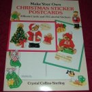 Paperback - Make Your Own Christmas Postcards Activity Book