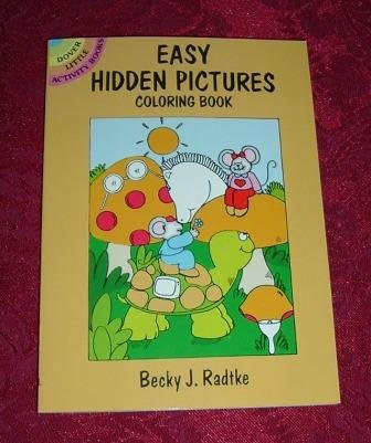Paperback - Easy Hidden Pictures Coloring Activity Book