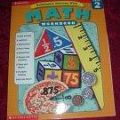 Paperback - Scholastic Math Workbook Grade 2